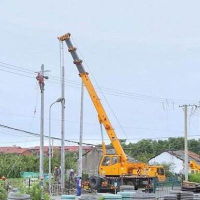 朗基.水印三生项目高压线路迁改工程