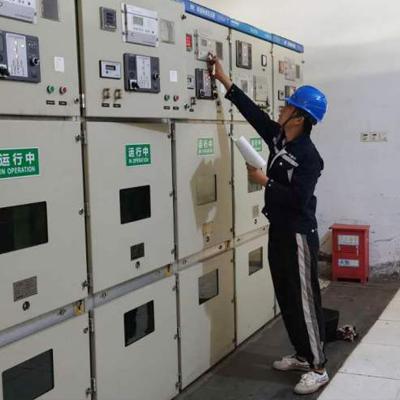 江津区公司聚英花园小区配电房隐患整治