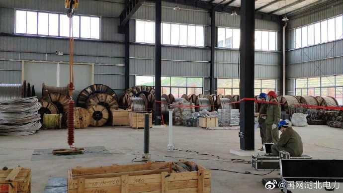 500kV氧化锌避雷器进行安装前试验
