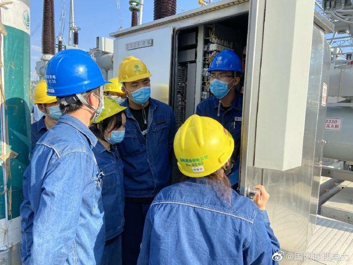 渭南供电公司开展各专业青年员工实操集训