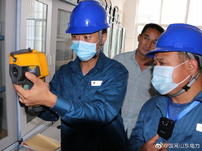 莒县供电公司进行了空调全运转用电设备隐患排查工作