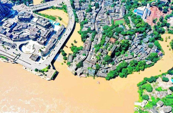 重庆电力:洪峰过境磁器口 我们严阵以待