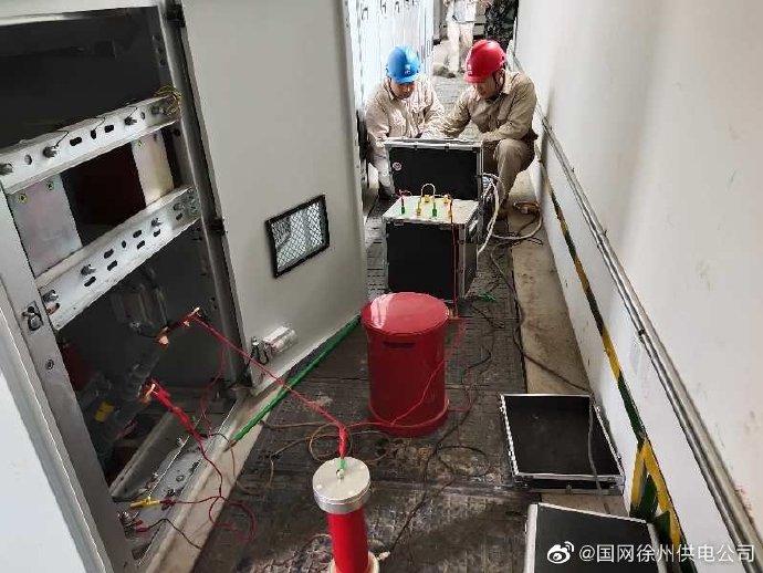 Tata木门10kv地埋电缆故障抢修-试验
